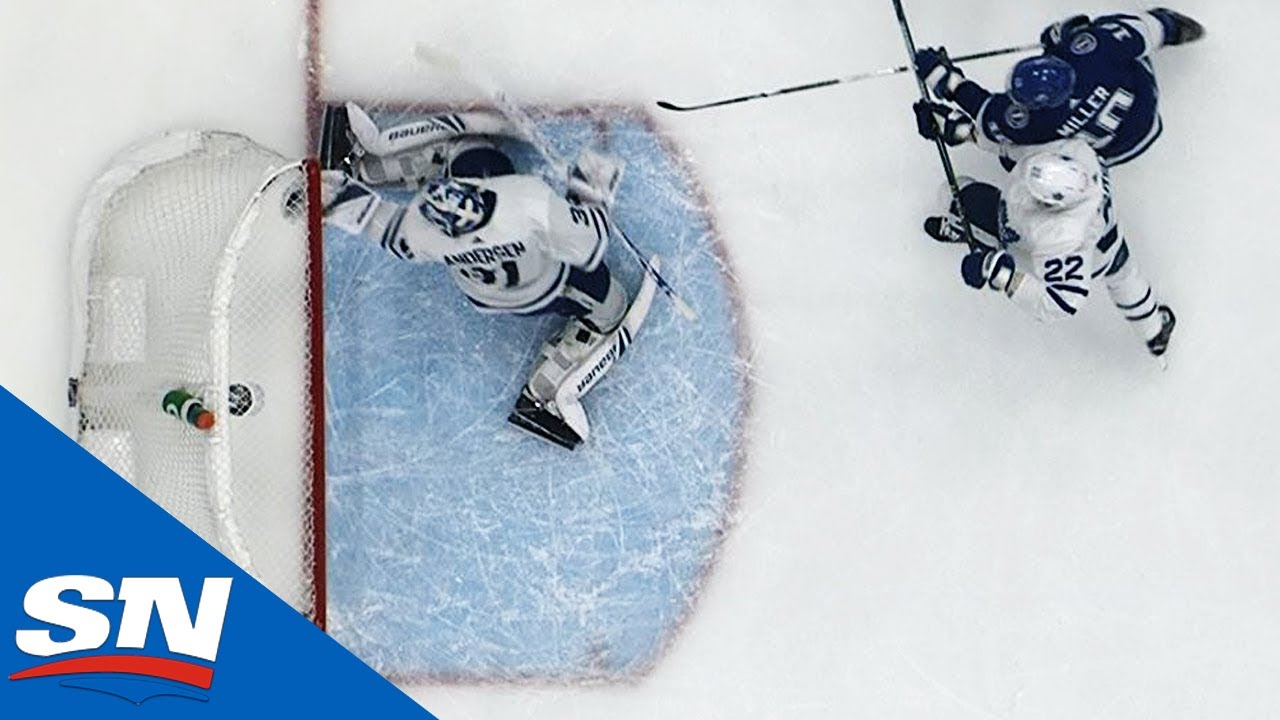 Review Gives Goal To Nikita Kucherov After Frederik Andersen's Save Comes Up Short