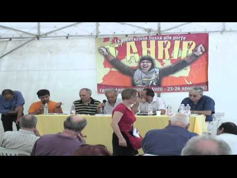 Assisi: Attia Rajab - Campo anti-Imperialista - Palestine: The Roots of the Palestinian struggle