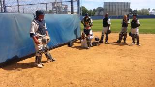 Quick Hands Catching Drill - MLB  Youth Academy
