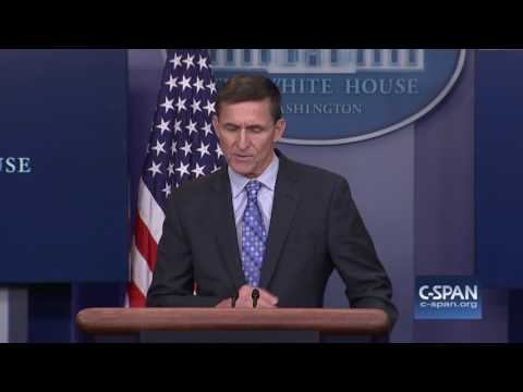 National Security Advisor Gen. Michael Flynn on Iran (C-SPAN)