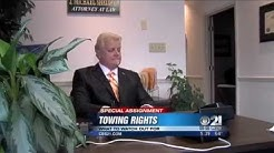 Knowing your rights if you need a tow
