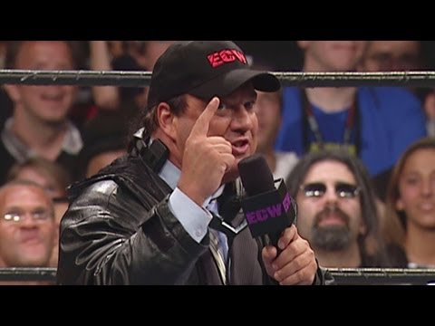 Paul Heyman lets loose at the Hammerstein Ballroom: ECW One Night Stand 2005
