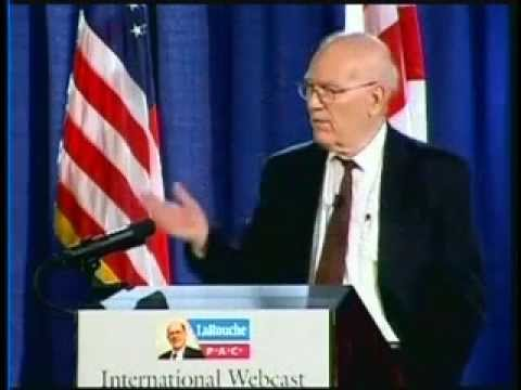 """Lyndon LaRouche's 2008 """"Tragedy & Hope"""" lecture"""