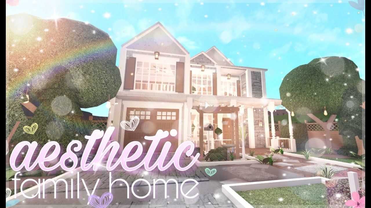 Bloxburg Aesthetic Family Home Youtube