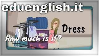 Shopping for clothes English learning for Kids YouTube