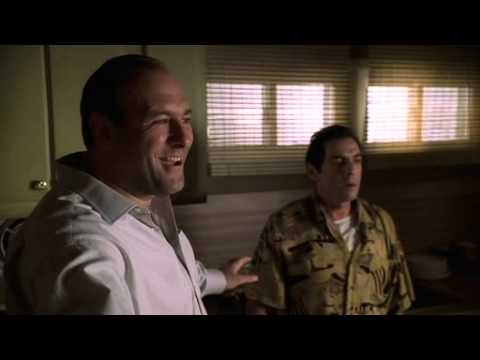The Sopranos - Richie Disrupts Poker Game