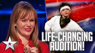 George Sampson RETURNED and his life changed FOREVER!   Unforgettable Audition  Britain's Got Talent