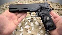 Wilson Combat CQB Elite Combat 1911 45ACP Hand Fitted Semi Auto Pistol Overview - Texas Gun Blog