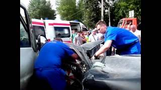 Жестокая Авария на Кутузовском Проспекте [08.07.2014]