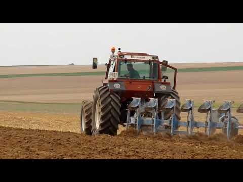Seeding in France with Fiatagri