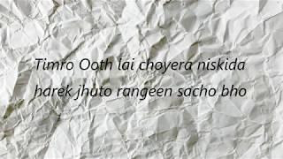 basanta lyrics cover ( by jpt rockerz)