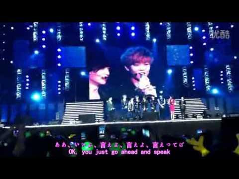 [Eng/Jap Sub] 20121028 EXO-M @Yangtze River Music Festival [E.T.Team]