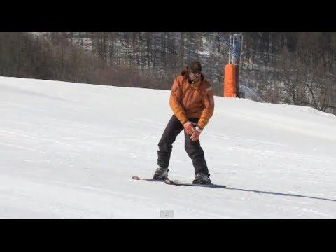 Урок 8 - Упражнение как поворачивать на горных лыжах #8
