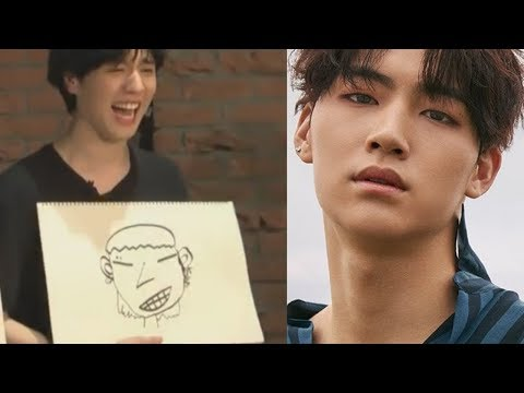 GOT7 drawing each other