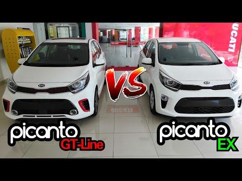 Kia Picanto GT-Line VS Kia Picanto EX 2019 Malaysia Spec | Side By Side Comparison