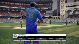 Don Bradman Cricket 14  - India vs Australia - 5 over match