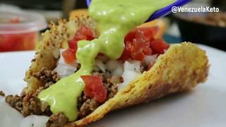 LOS MEJORES TACOS DE QUESO sin tortilla | DIETA CETOGÉNICA - KETO DIET