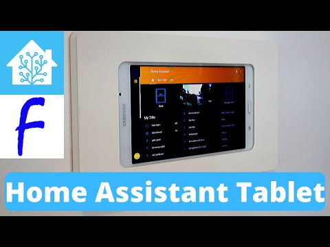 Fully Kiosk Browser And Home Assistant