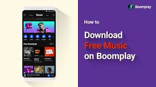 How to Download Free Music on Boomplay screenshot 2