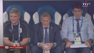 COUPE DU MONDE 2018 QuartDeFinale Uruguay France