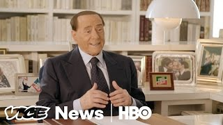 Exclusive Interview with Former Italian Prime Minister Silvio Berlusconi  VICE News Tonight on HBO