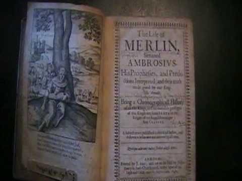 The Book of Magic & Spells : MERLINS BOOK - 1641
