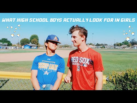 what high school boys ACTUALLY look for in girls || high school advice