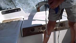 Bateau électrique (electric boat) a valence moteur ETEK Mars ME1003 (EMC-RT200)