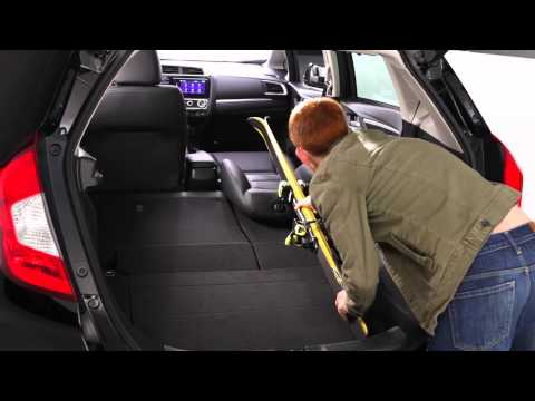2015 Honda Jazz/Fit interior & cargo space