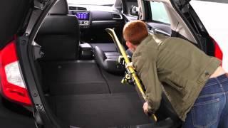 2015 Honda Jazz/Fit interior & cargo space
