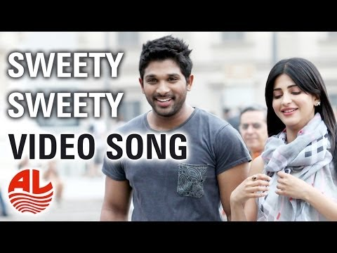 Race Gurram Songs | Sweety Sweety Video Song | Allu Arjun, Shruti hassan, S.S Thaman