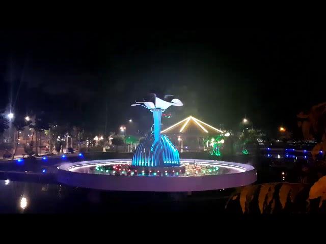 Nhạc nước công viên Bác Hồ - Tp. Sa Đép - Đồng Tháp - HAPPY NEW YEAR