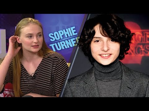 Sophie Turner Tells 'Stranger Things'  to Leave Finn Wolfhard ALONE