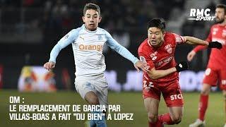 OM : Le remplacement de Garcia par Villas-Boas a fait du bien à Lopez