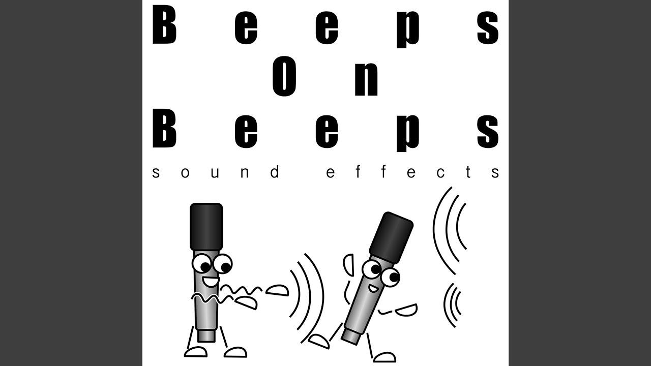 Beep sound effect free