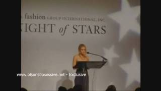Ashley Olsen Speech @ Night of Stars Thumbnail