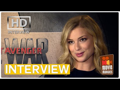 Captain America | Emily VanCamp on her & Caps relationship (exclusive interview)