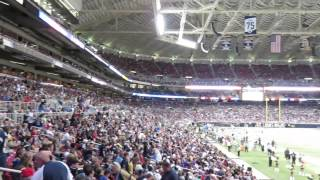 the dallas cowboys fans takeover edward jones dome in st louis