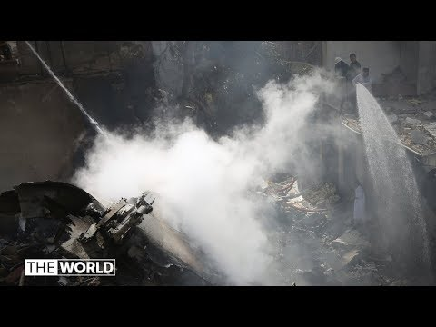 Pakistan International Airlines plane crashes in Karachi   The World