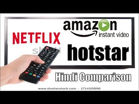 HINDI Netflix vs Prime Video vs Hotstar ? What is BEST?