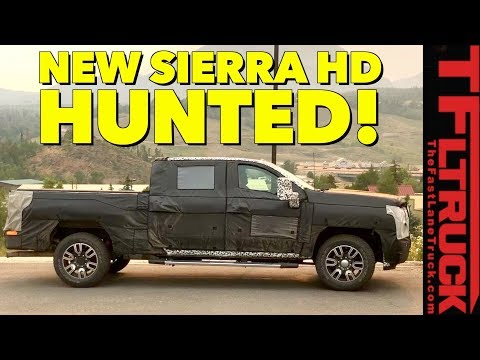 Prototype Hunting: 2020 GMC Sierra 2500 HD Spied In the Wild!