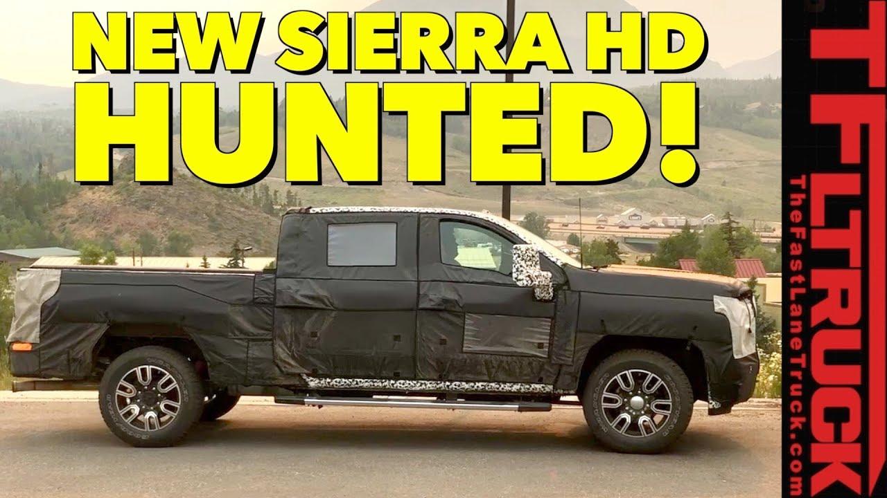Prototype Hunting: 2020 GMC Sierra 2500 HD Spied In the ...