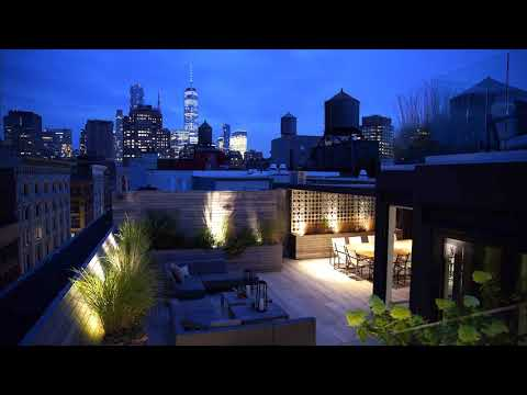 111 Wooster PHE: Newly-Built Soho Penthouse Duplex w/2-Tiered, Jaw-Dropper Terrace BrianKLewis.com