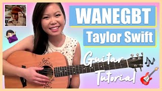 """We Are Never Ever Getting Back Together"" - Taylor Swift EASY Guitar Tutorial/Chords (No Capo!)"