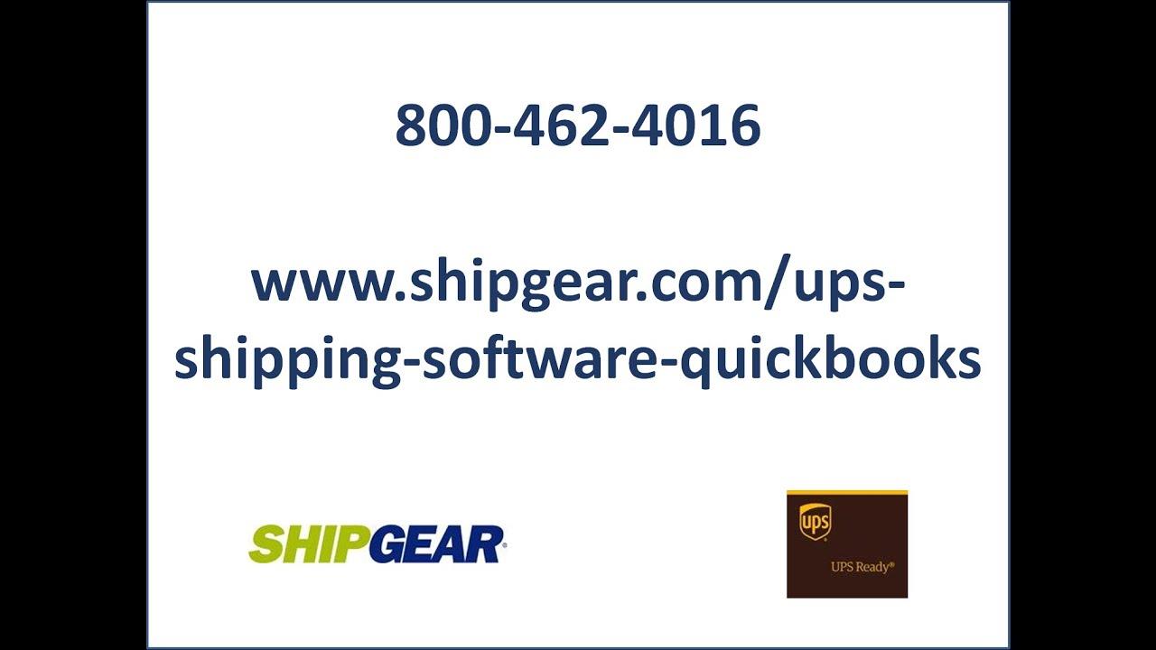 ShipGear® for UPS – ShipGear