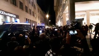 Lecce, protesta per il Dpcm: corteo al grido di