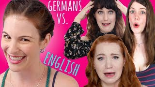 German YouTubers VS. CHALLENGING TONGUE TWISTERS