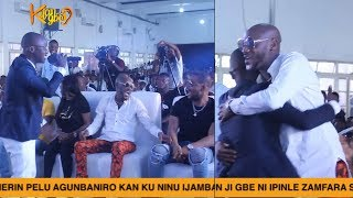 Kings College Young Boy Shocks 2Baba And His Wife Annie Idibia With His Rap