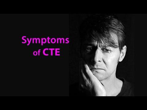 Symptoms of CTE