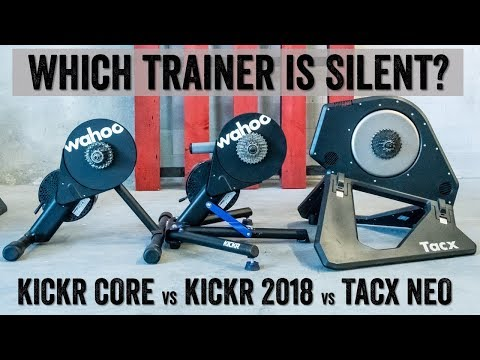 Trainer Sound Test: KICKR CORE vs KICKR 2018 vs TACX NEO